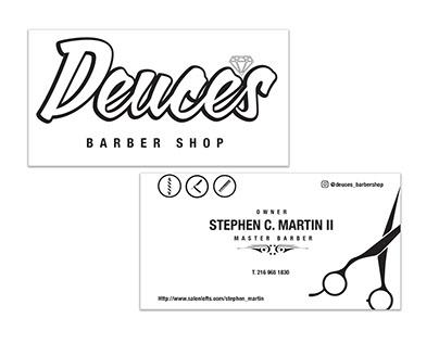 Brand Identity - Deuce's Barber Shop