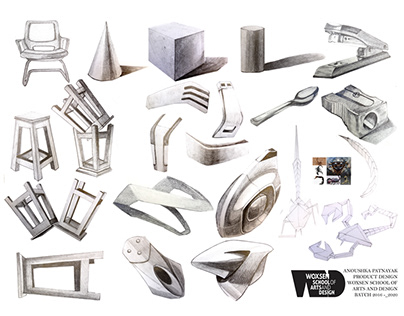 Product Engineering Sketches - Form Exploration
