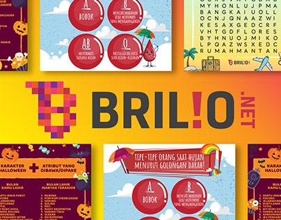 Brilio - Social Media Design