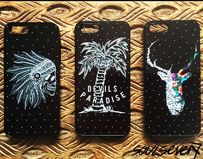 SOULSEVEN7 IPHONE 5, 5S & 6 CASES & MUGS