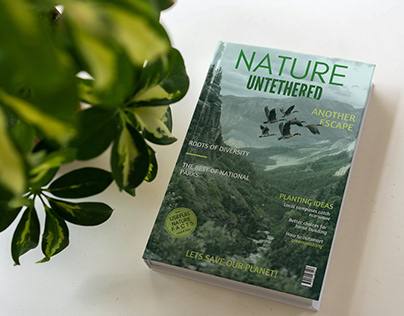 MAGAZINE COVER- Nature Untethered