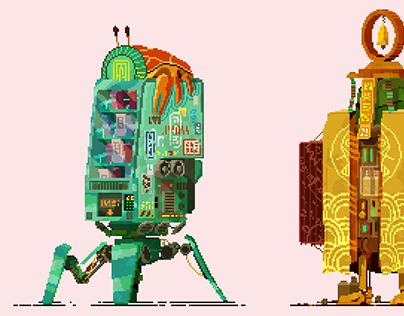 Cyberpunk vending machines III