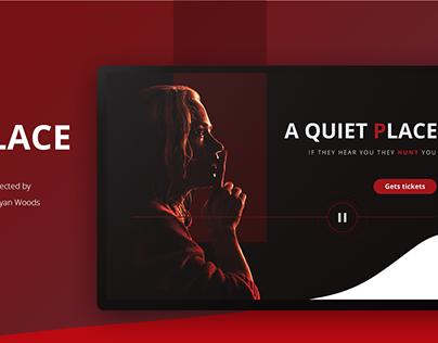 Horror movie - A Quiet Place