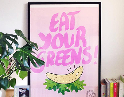 Veggie Friends posters