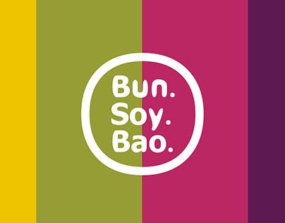 Bun. Soy. Bao. - logo and branding design