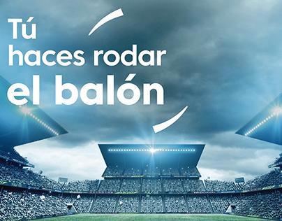 Trabajos LALIGA Santander, LIGA Internacional de Fútbol