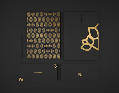 Concept for luxury brand identity