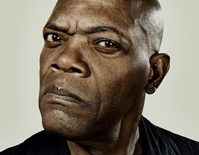 SAMUEL L. JACKSON with Olaf Blecker | Celebrity Retouch
