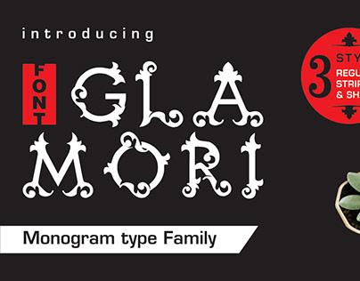 Monogram Family type Font