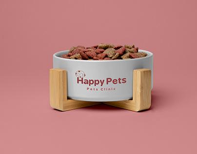 Happy Pets | Pets Clinic Branding