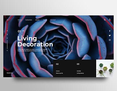 Online Plants Store concept design