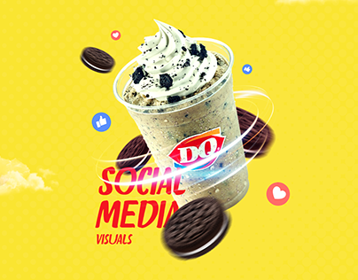 DQ Egypt Social Media Visuals