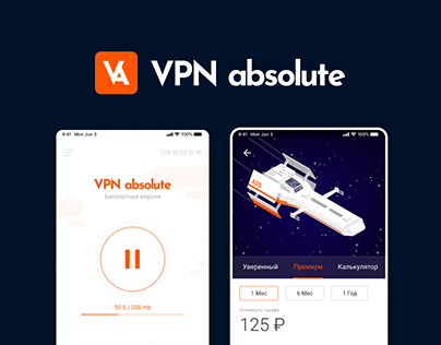 VPN, absolute. Mobile app