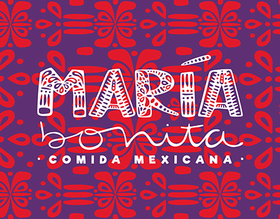 María Bonita, mexican food container.