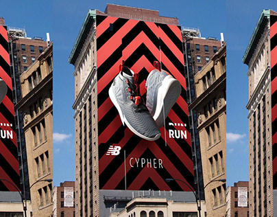 New Balance / Cypher Run / Branding