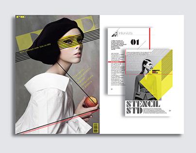 █ ▇ ▆ ▅ Creative magazine