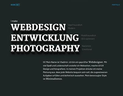Webdesigner Portfolio
