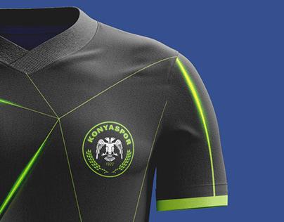 KONYASPOR 2019-2020 Footbal Kit Design