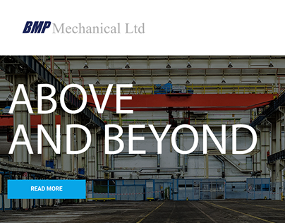 BMP Mechanical Landing Page Exercise