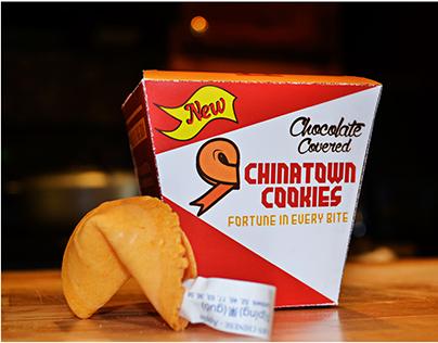 Chinatown Cookies Branding