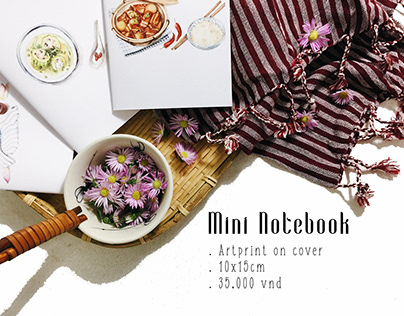 Mini-notebook Lookbook