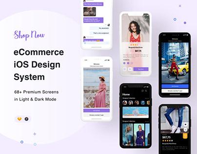 eCommerce iOS Design System
