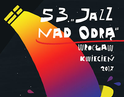 "Poster for Music Festival ""Jazz nad Odrą"""