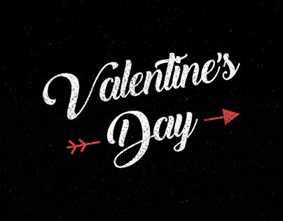 Valentine's Day Website Banner
