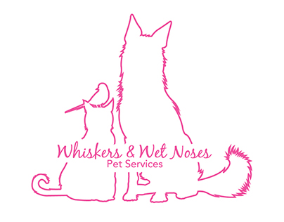 Whiskers & Wet Noses Logo Design