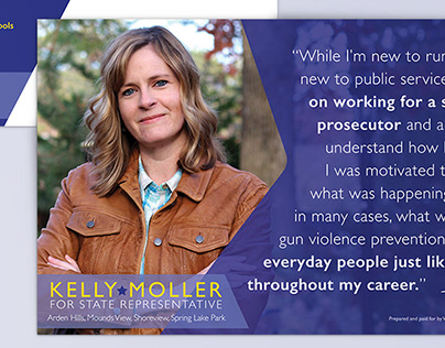 Kelly Moller for State Rep Literature Campaign