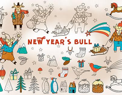New Year's Bull