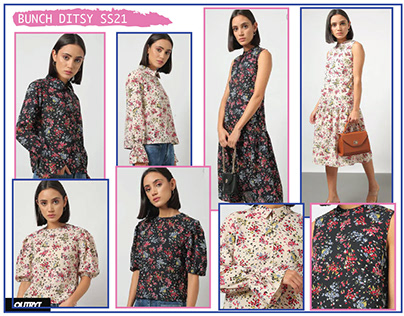 Women Ditsy Floral