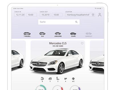 Paperless Car Rental App
