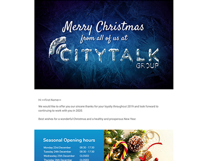 Christmas Email