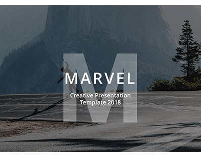 Marvel Creative Powerpoint Template