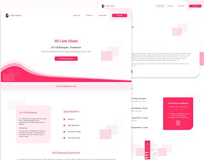 Personal Branding Website