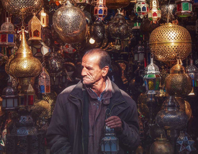 The People of Marrakech / Morocco