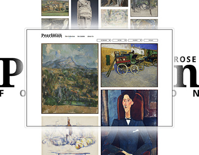 The Pearlman Collection - Branding, Website