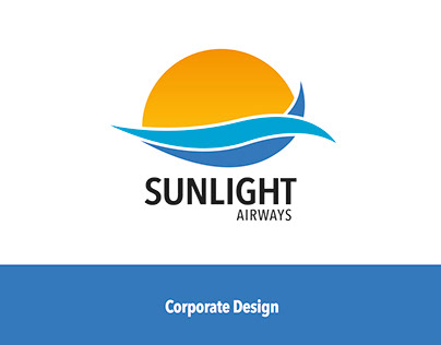 Corporate Design for fictitious Airline