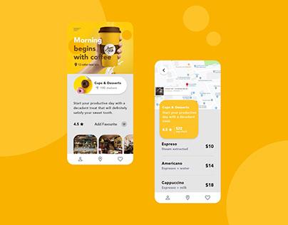 Food Delivery Application UI Design