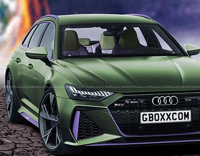 2020 Audi RS6 Avant Hulk Edition