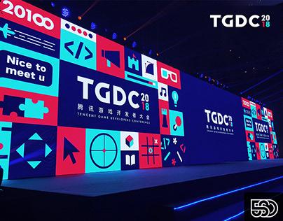 2018 TGDC腾讯游戏开发者大会设计|Tencent Game Developers Conference