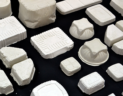 גופן נספק | Plastic thermoformed packaging font