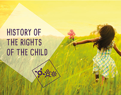 History of the rights of the child's flyer - IBCR
