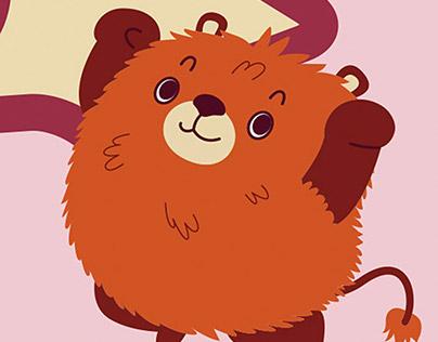 mascot design 星河动漫形象设计