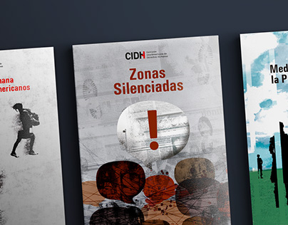Cover designs for CIDH-OEA