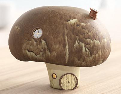 CG Food - Mushroom House