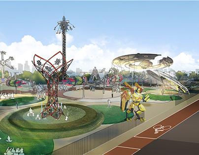 Themed park concept