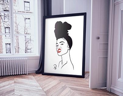 La Femme Poster Series