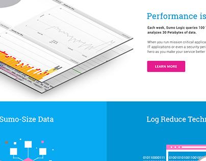 Sumo Logic - Web Design